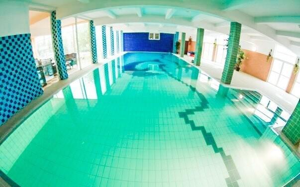 V bazéne môžete relaxovať ako dlho budete chcieť