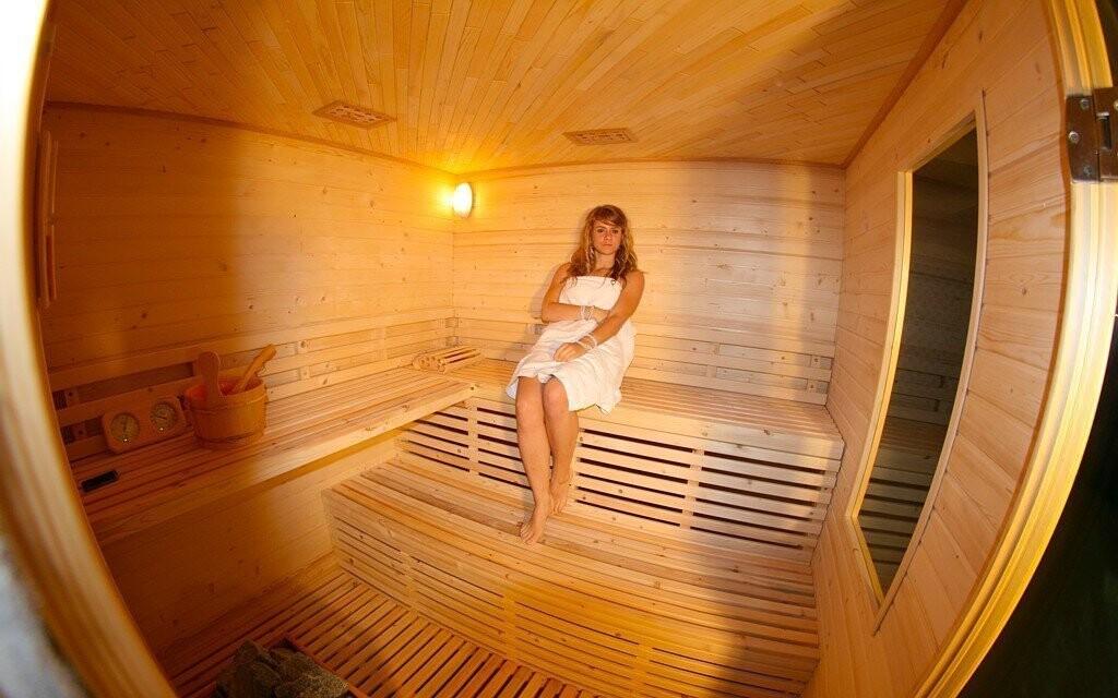Sauna v hotelu Daisy Superior*** je ideální pro relax