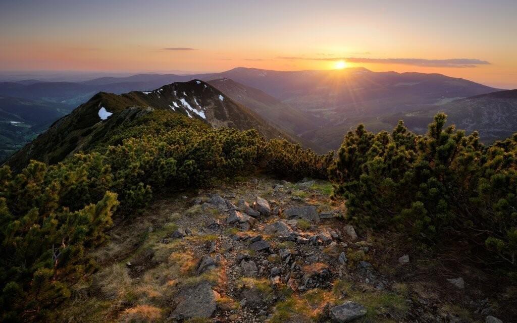 Krásná příroda Orlických hor