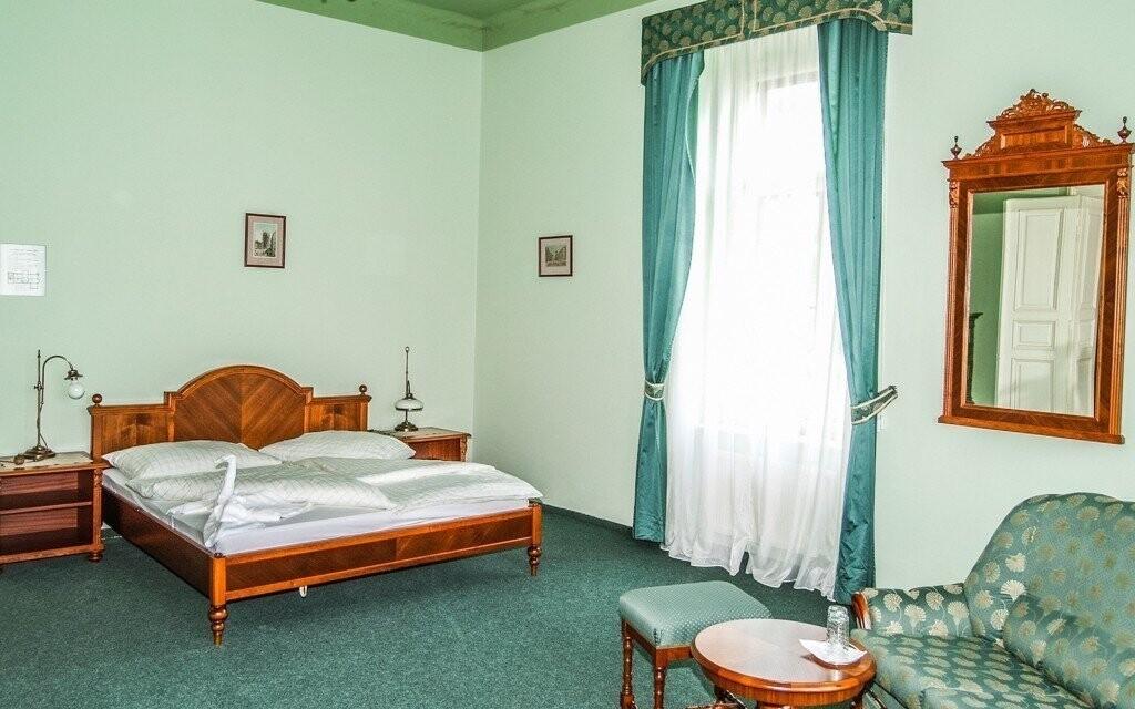 Komfortně vybavené pokoje hotelu
