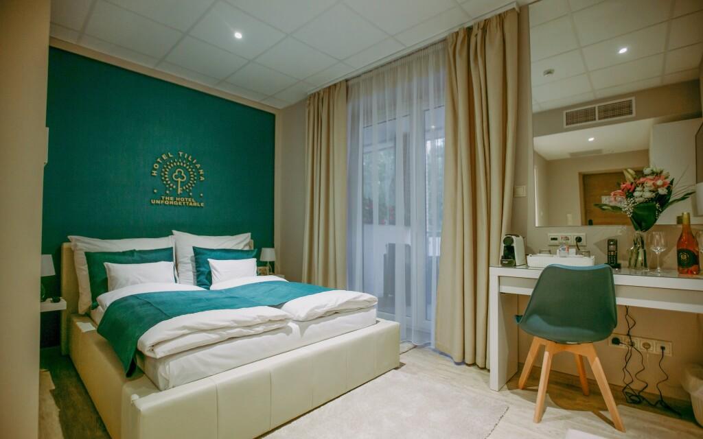 Pokoje Superior vás nadchnou, Hotel Tiliana **** v Budapešti