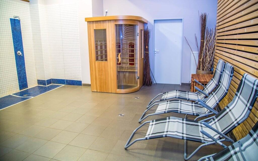 Wellness, sauna a infrasauna, Parkhotel Harrachov ***