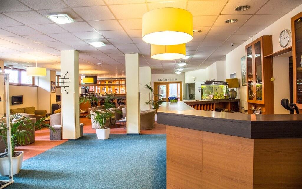 Recepce a lobby, Parkhotel Harrachov *** Krkonoše
