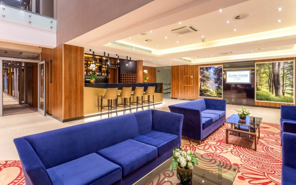 Lobby, elegantní interiéry, Outlet Hotel Polgar ****