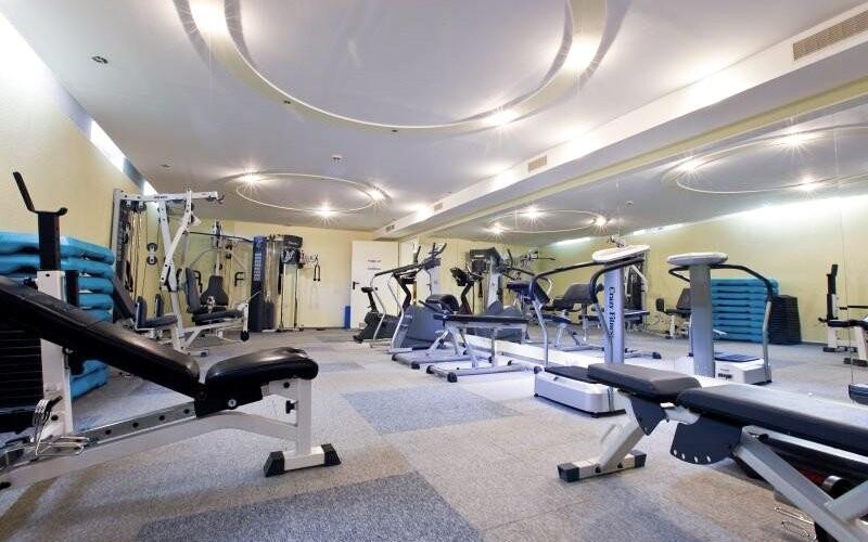 Fitness centrum, Hotel Tornacos ***, Maďarsko