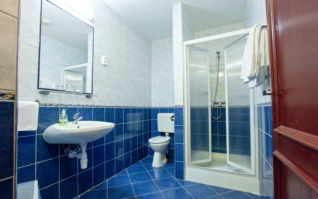 Vlastná kúpeľňa, Fertő-parti Panzió, Maďarsko