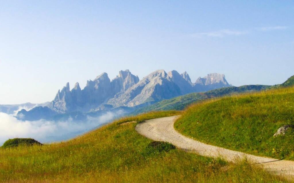 Talianske Dolomity sú ideálne na turistiku aj cyklistiku