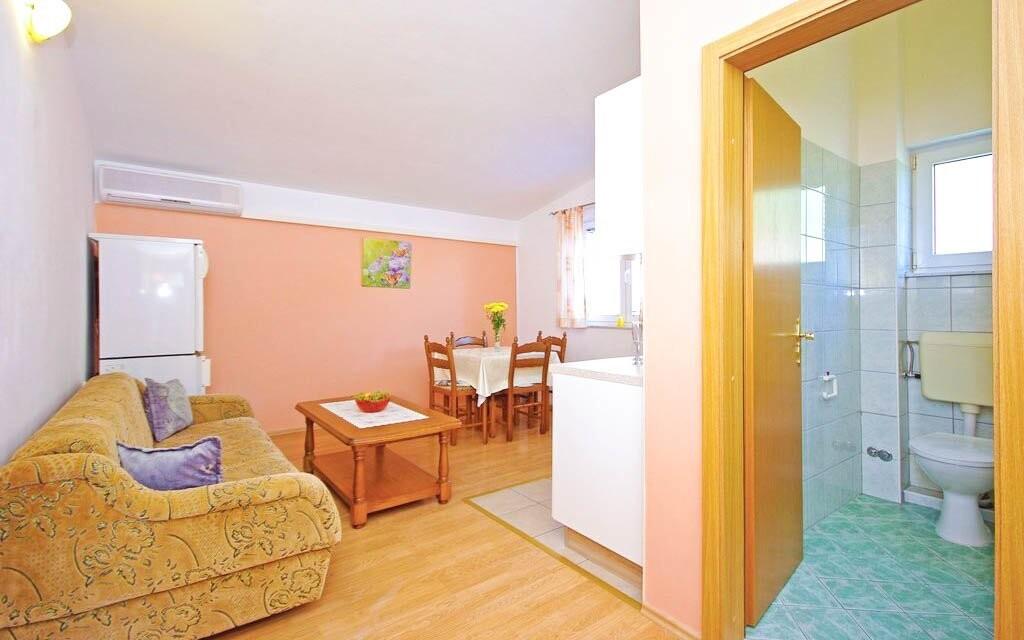 Krásne apartmány v letovisku Krkavica