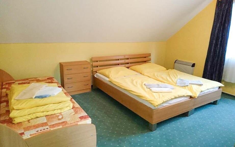 Apartmány sú určené pre dve až tri osoby