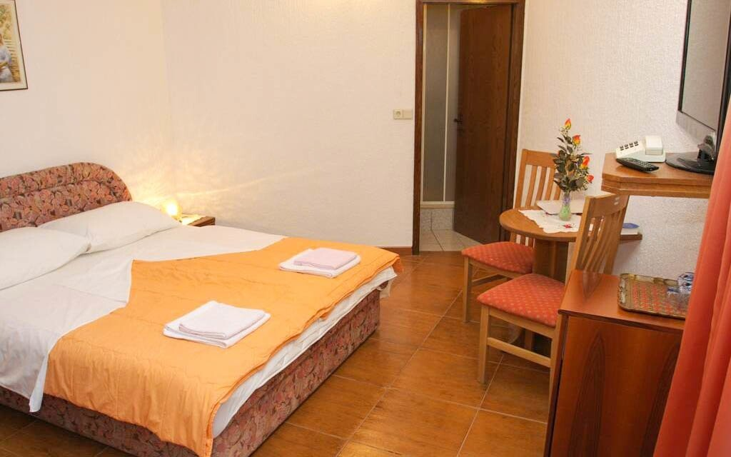 Pohodlné izby v Hoteli Makarska ***
