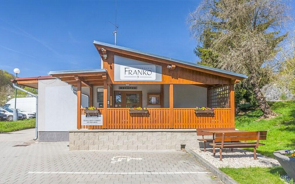 Pension Franko stojí neďaleko centra Českého Krumlova