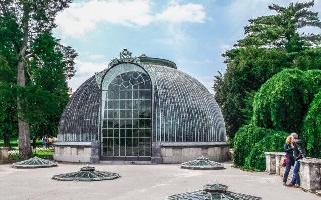 zámek lednice  zahrada dovolená sleva skleník
