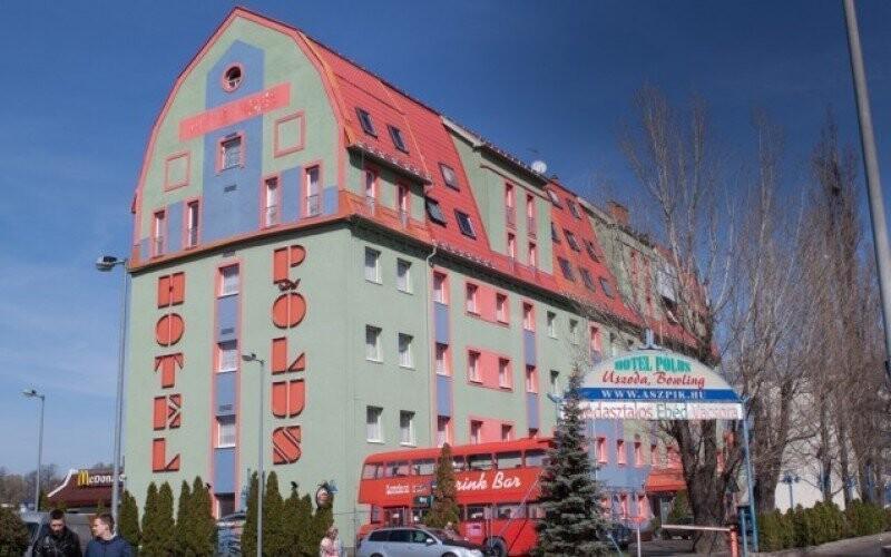 Hotel Polus Madarsko Budapest Sleva Exterier Slevoking