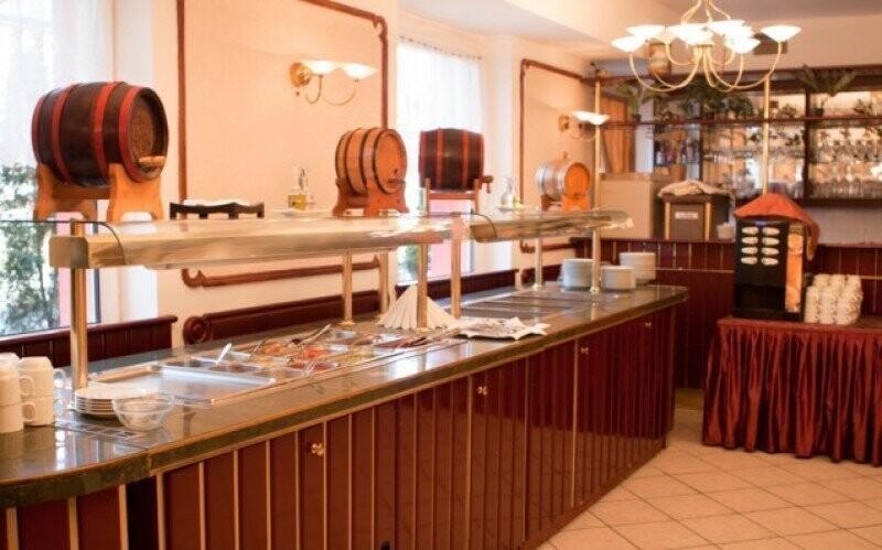 Restaurace Snidane Slevoking polus Budapest