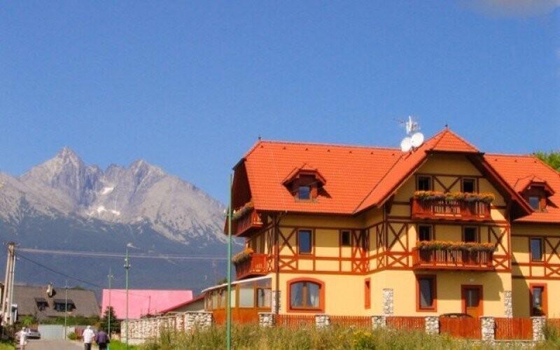 Penzión Baďo Leto Vysoké Tatry Dovolenka Zľava Sleva