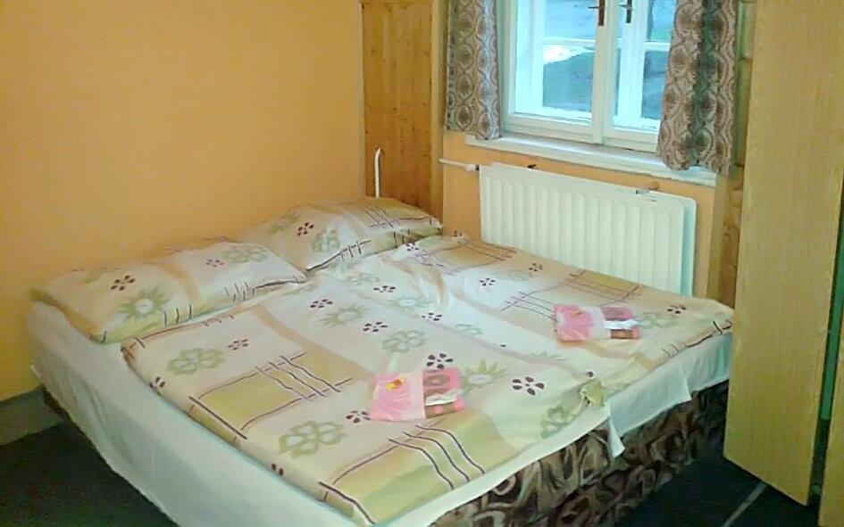 Pokoje hotelu Orlice jsou příjemně vybavené