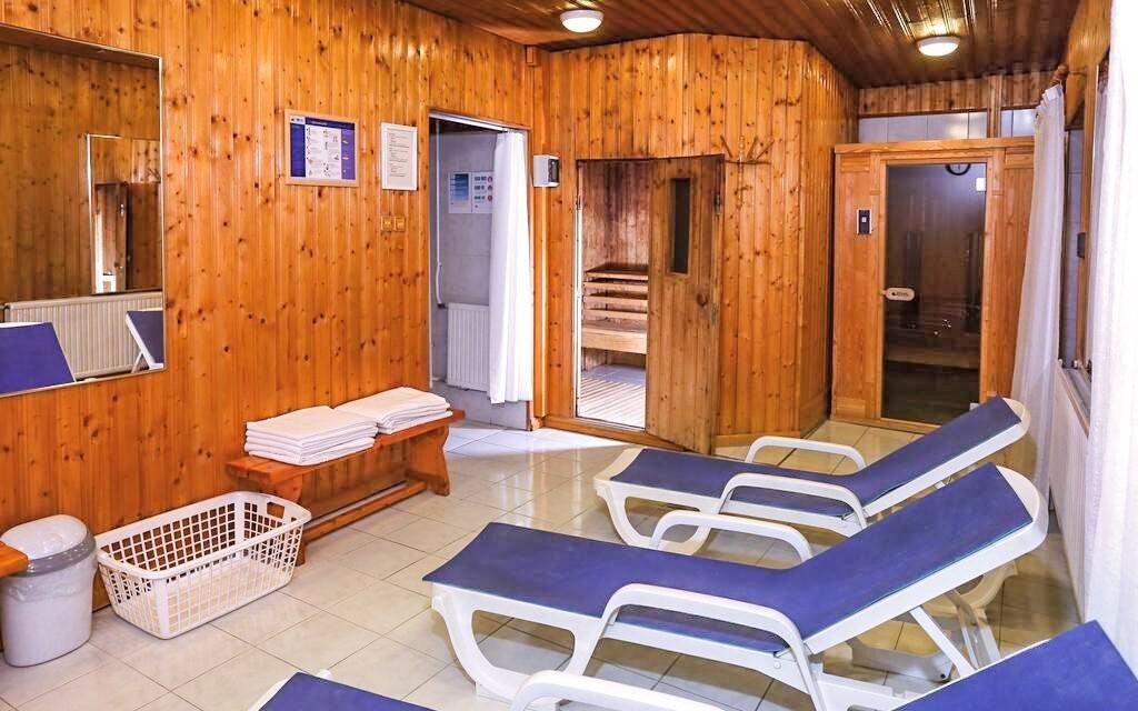 Relaxovat můžete neomezeně ve finské sauně