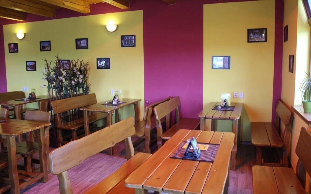 V reštaurácii si pochutnáte na slovenskej kuchyni