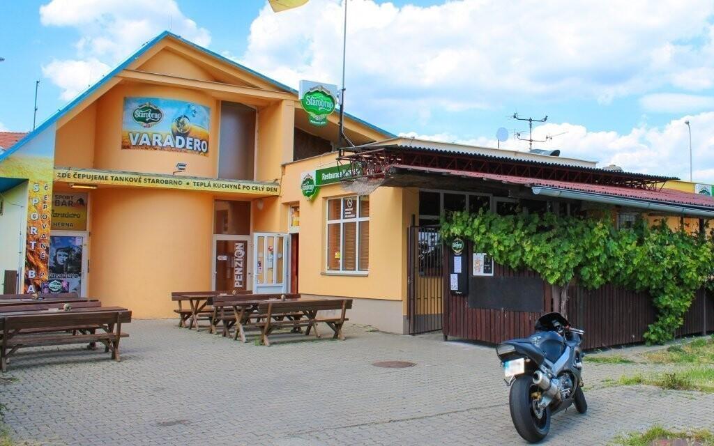 Penzión Varadero sa nachádza v kľudnej časti Brna