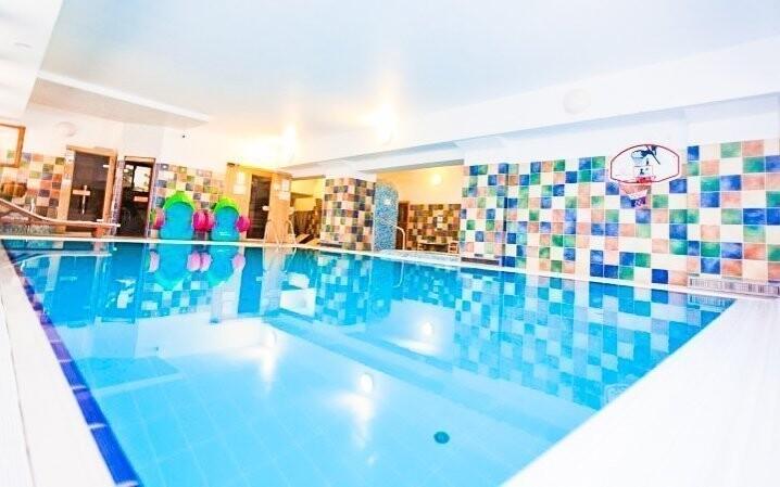 Wellness a bazény máte k dispozícii neobmedzene