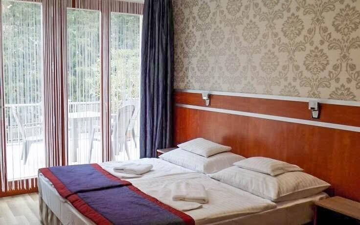 V pohodlných pokojích naleznete vše k vaší spokojenosti
