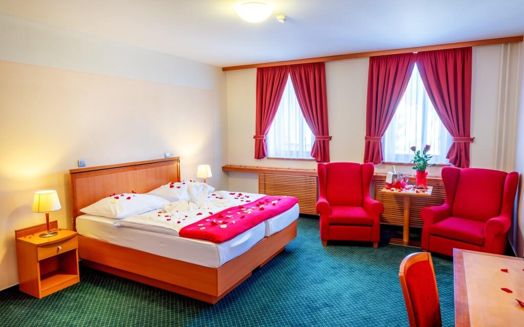 Priestranné, farebne zladené izby