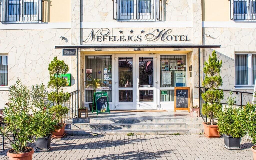Pobyt v hotelu Nefelejcs si užijete