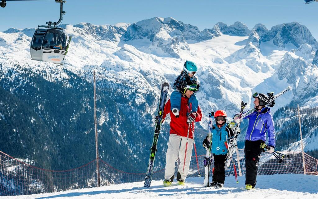 Az osztrák Alpok tökéletes hely a síelés szerelmeseinek
