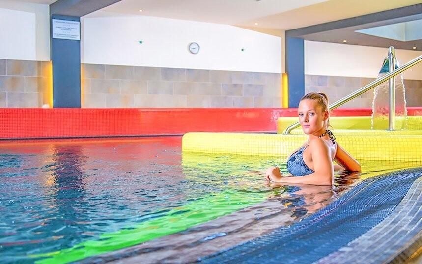 V bazénoch a vírivke si skvele oddýchnete