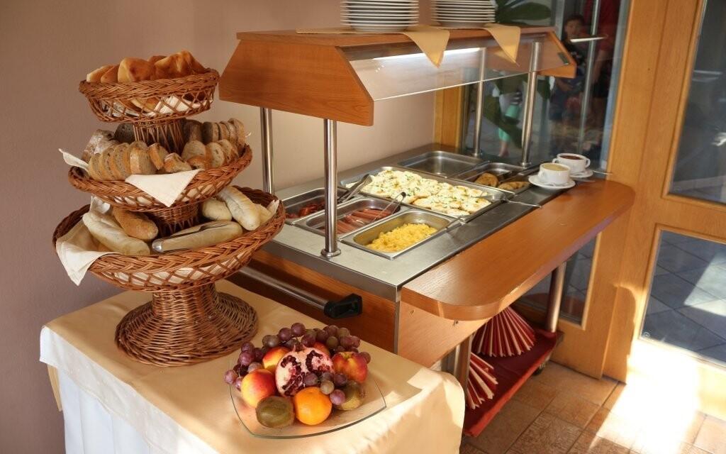 Čekají vás bohaté snídaně