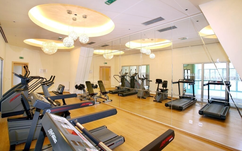 Kardiofitness ve wellness centru