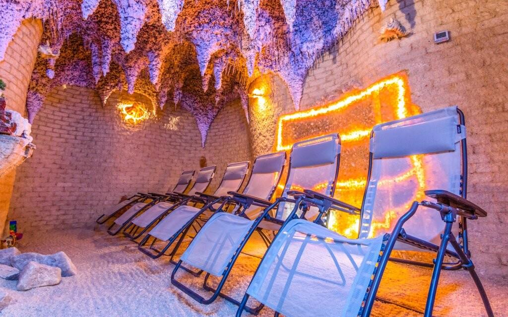Soľná jaskyňa, wellness, Hotel Vestina ***, Wisła, Poľsko