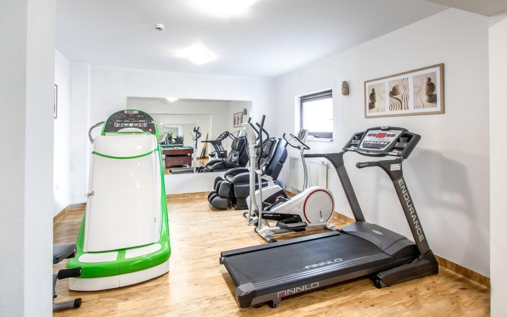 Fitness centrum, Hotel Vestina ***, Wisła, Poľsko