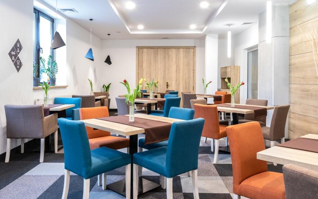 Kavárna, Hotel Vestina ***, Wisła, Poľsko