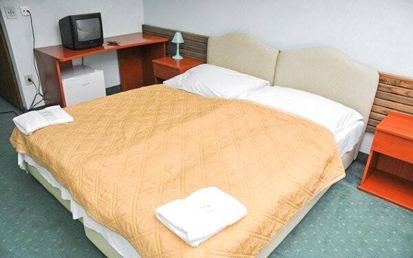 Pohodlné pokoje vhodné pro páry