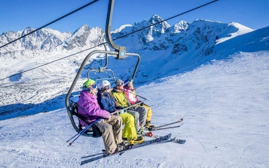 Vydejte se do jednoho ze ski areálů