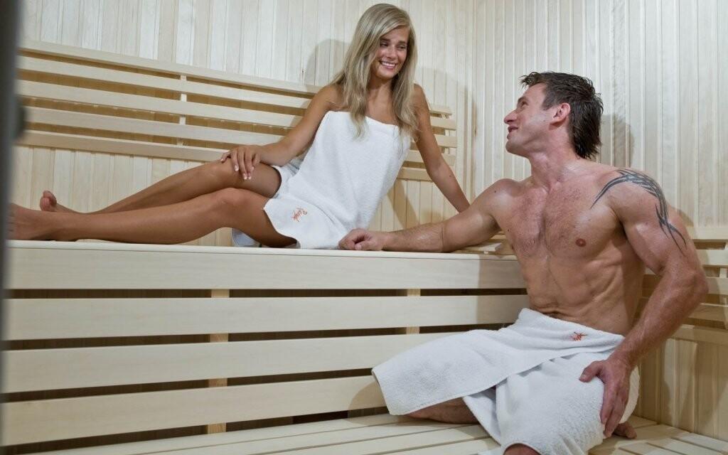 Máte na výběr i saunu