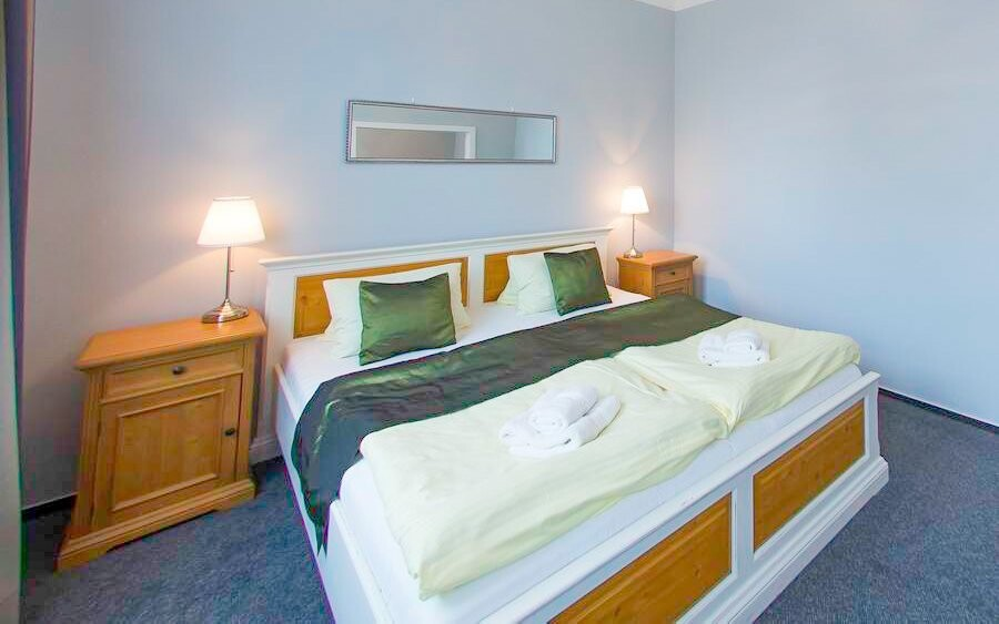 Ubytování budete v hotelu Soudek v centru města