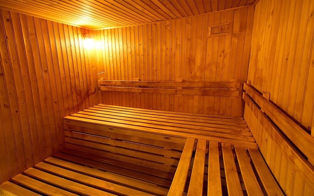 Po náročném dni se prohřejete v sauně