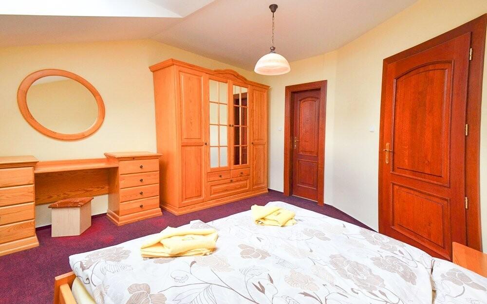 Komfortní ubytování s vlastním sociálním zařízením