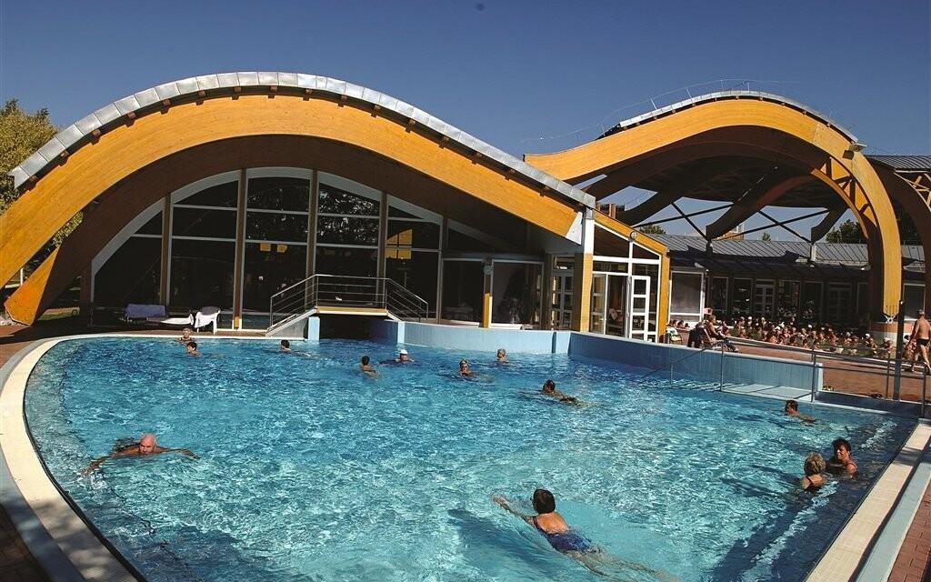 Termální bazény jsou otevřené celoročně