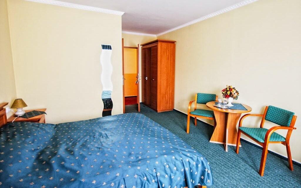 Hotelové izby sú komfortne vybavené