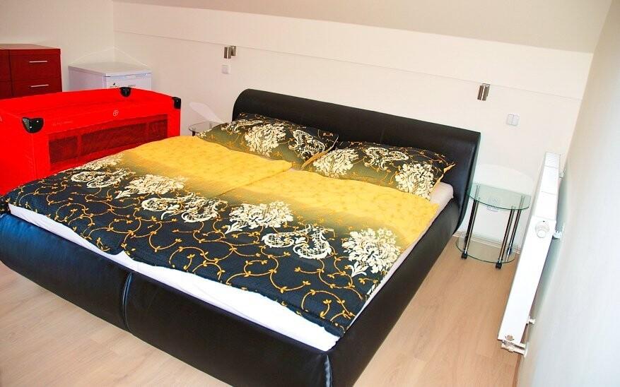 Ubytování je zajištěno v apartmánech