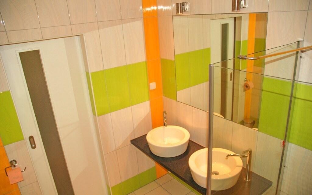 Koupelna vás potěší moderním designem