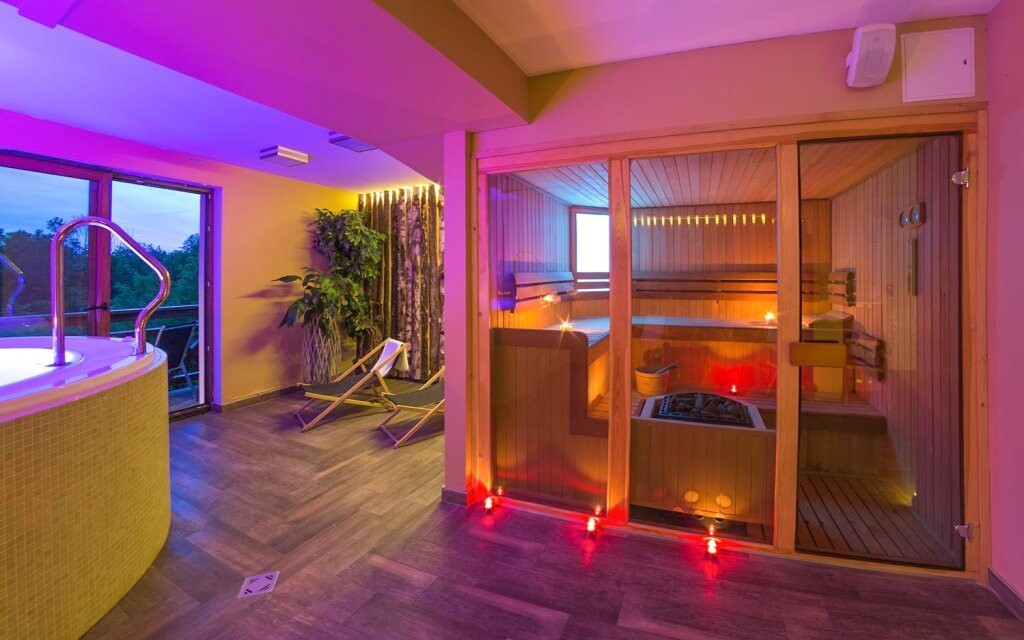 Do hotelového wellness máte neomezený vstup
