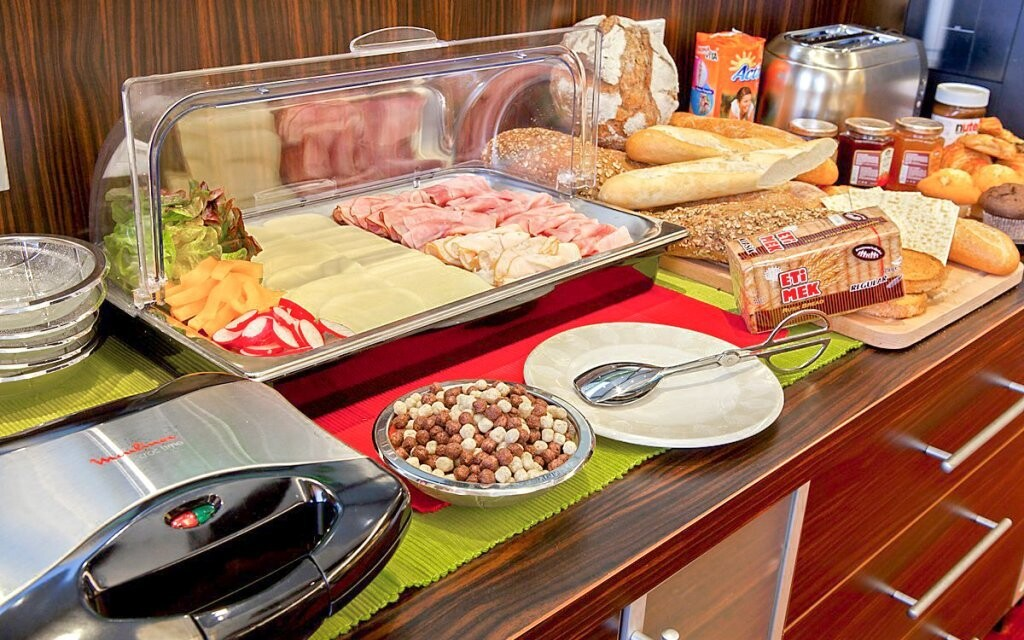 Snídaně v hotelu vás nabijí energií na celé dopoledne