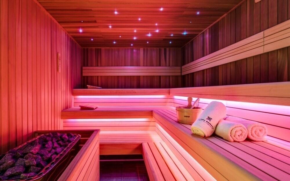 Nebo se zahřejte ve finské sauně