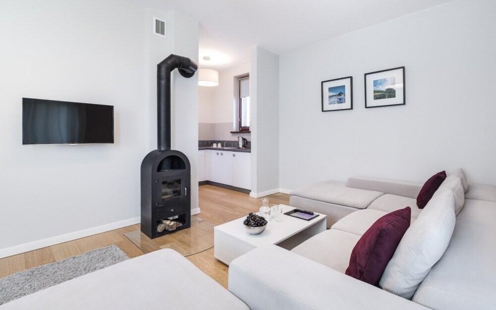 V apartmánu si vychutnáte luxusní prostředí