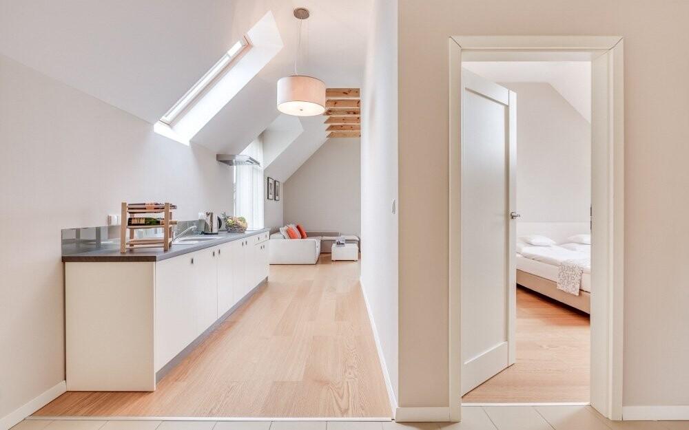 Zvolit můžete i ubytování v Apartment Double