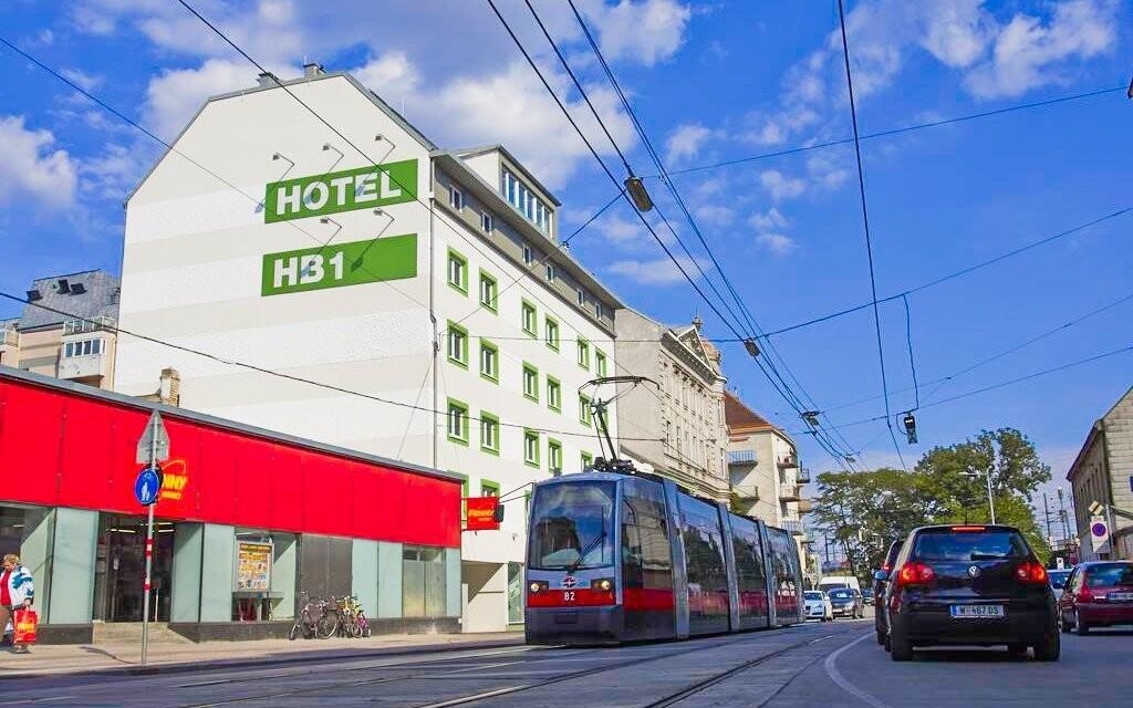 HB1 Design & Budget Hotel leží len 15 minút od centra